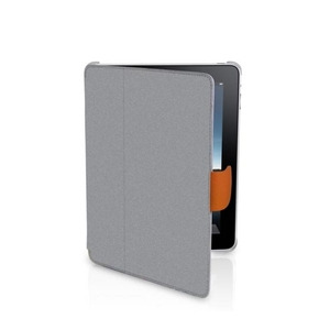 Photo of MACALLY Bookstand and Cover For iPad - Grey Computer Case