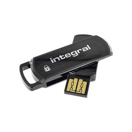 INTEGRAL Secure 360 Encrypted USB Key Flash Drive - 16GB