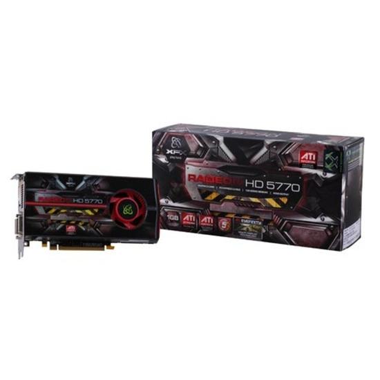 XFX ATI Radeon HD 5770 PCI-E Graphics Card - 1GB