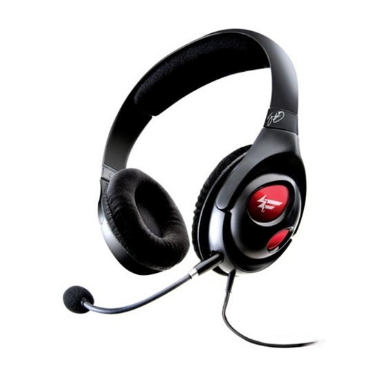 CREATIVE HS-1000 Fatal1ty USB Gaming Headset - Black and Red