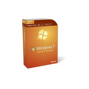 Photo of Microsoft WINDOWS7 Home Premium Family Pack Software
