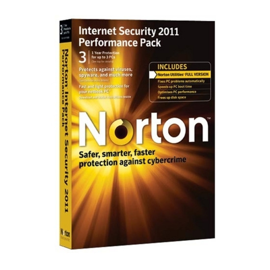 Norton Internet Security 2011 Performance Pack