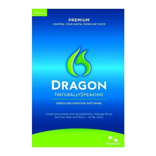 DRAGON Dragon NaturallySpeaking 11 Premium