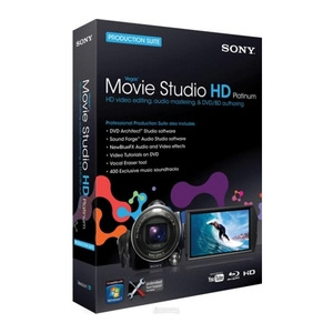 Photo of Sony Vegas Movie Studio HD Platinum 10 Software