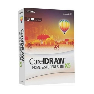 Photo of Corel Graphics Suite X5 Home and Student Software