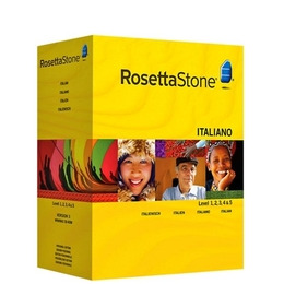 Rosetta Stone TOTALe: Italian Version 4 Level 1-5