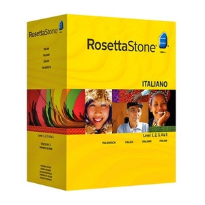 Photo of Rosetta Stone TOTALe: Italian Version 4 Level 1-5 Software