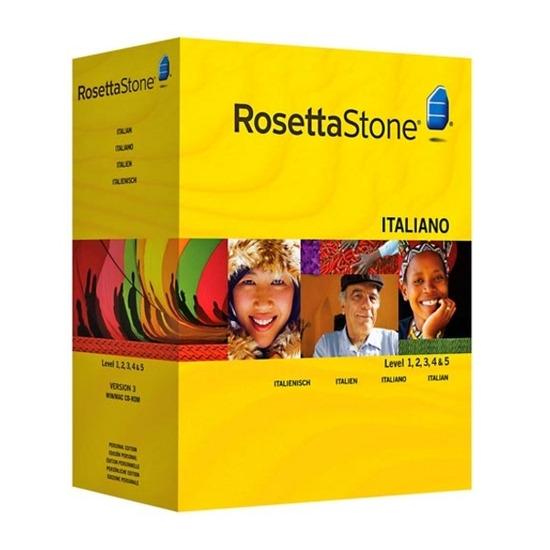 Rosetta Stone TOTALe: Italian Version 4 Level 1-5