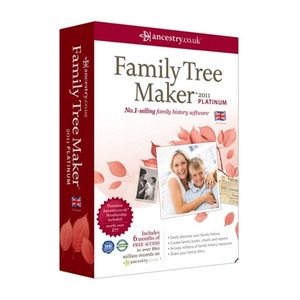 Photo of ANCESTRY.CO.UK Family Tree Maker 2011 Platinum Edition Software