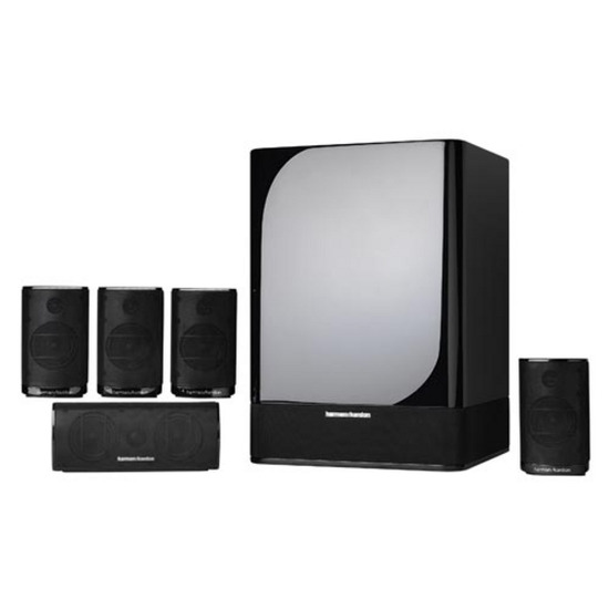 HARMAN KAR HKTS 7 5.1Ch Home Cinema System - Black