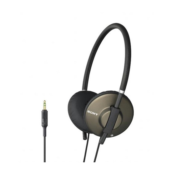 Sony MDR-570LPT Headphones - Brown