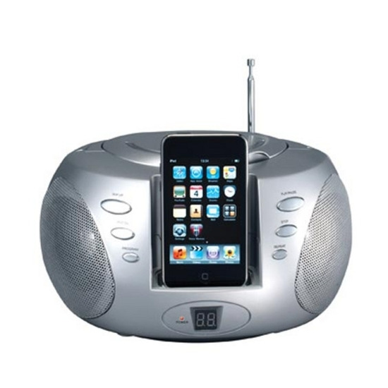 IWANTIT iPODST10 iPod Docking Station - White