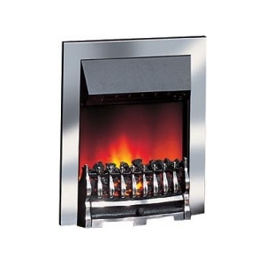 Photo of Dimplex Wynford 2KW Electric Inset Fire WYN20CH In Chrome Electric Heating