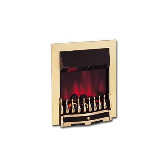Dimplex Wynford 2kW Electric Inset Fire WYN20BR in Brass