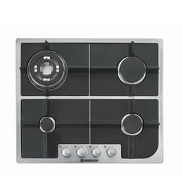 Hoover HGH64SQDX Built-in FSD Gas Hob - Stainless Steel
