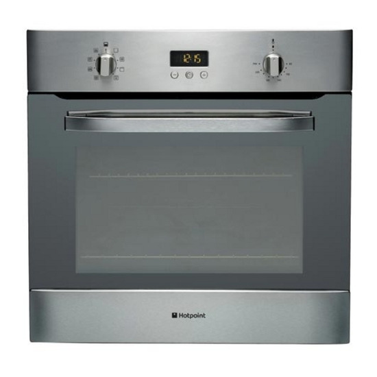 HOTPOINT SH83X Built-in Electric Single Oven