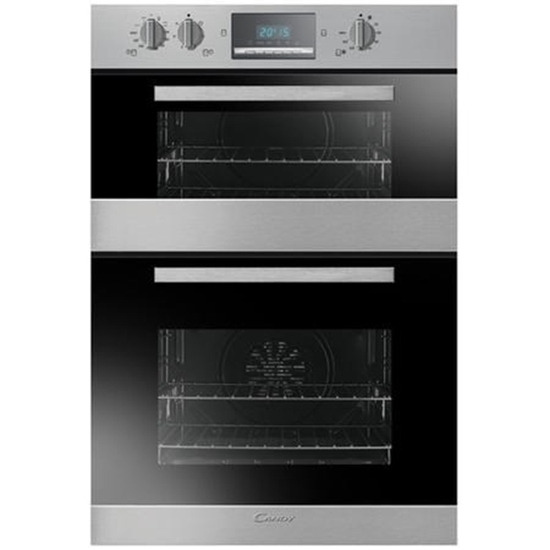 Candy FDP232/2X Built-in Electric Double Oven - Stainless Steel