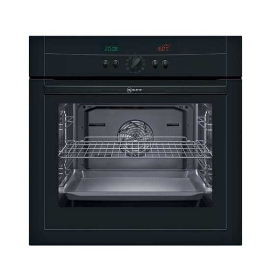 NEFF B15P42S0GB Built-in Electric Single Oven - Black