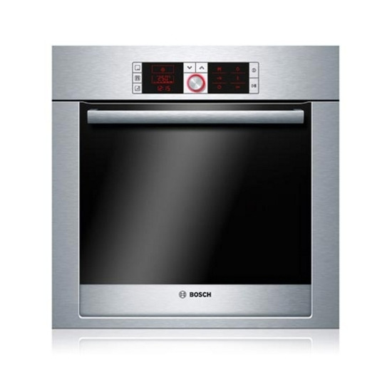 Bosch HBA56B550B Built-in Electric Single Oven - Brushed Steel
