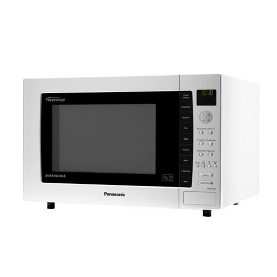 PANASONIC NN-CT870WBPQ Combination Microwave - White
