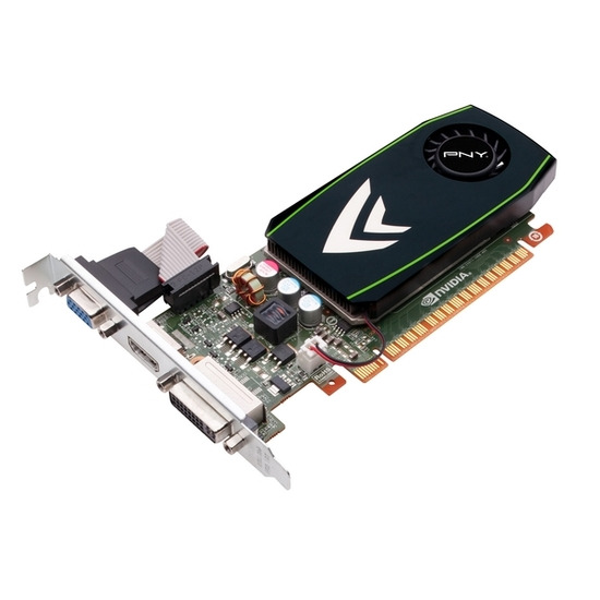PNY NVIDIA GeForce GT 430 PCI-E Graphics Card - 1GB