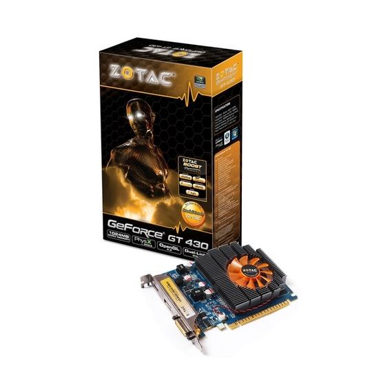 ZOTAC NVIDIA GeForce GT 430 PCI-E Graphics Card - 1GB