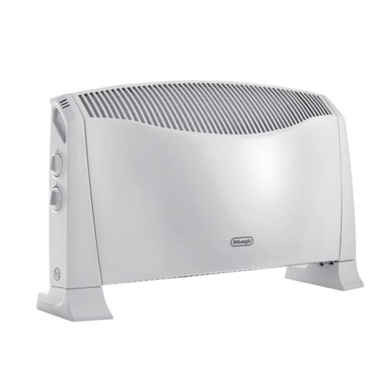 DeLonghi HCS2032 Convector Heater - 2.4kW, White