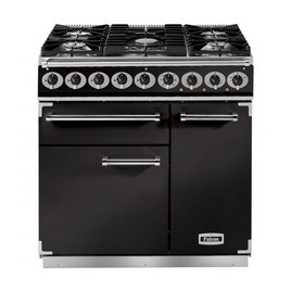 Falcon F900DXDFBLBM 77010 - 900 Deluxe 90cm Dual Fuel Range Cooker