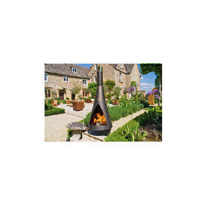 Photo of Colorado Contemporary Chiminea Garden Ornament