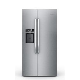 GRUNDIG GSBS13310X American-Style Fridge Freezer - Stainless Steel Reviews