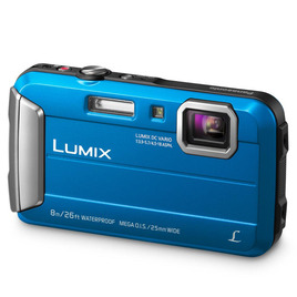 Panasonic LUMIX Digital Camera DMC-FT30 in Blue Reviews