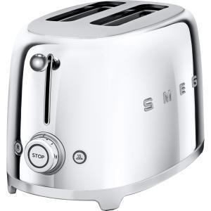 Photo of Smeg Two Slice Chrome Toaster Toaster