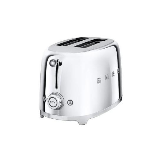 Smeg Two Slice Chrome Toaster