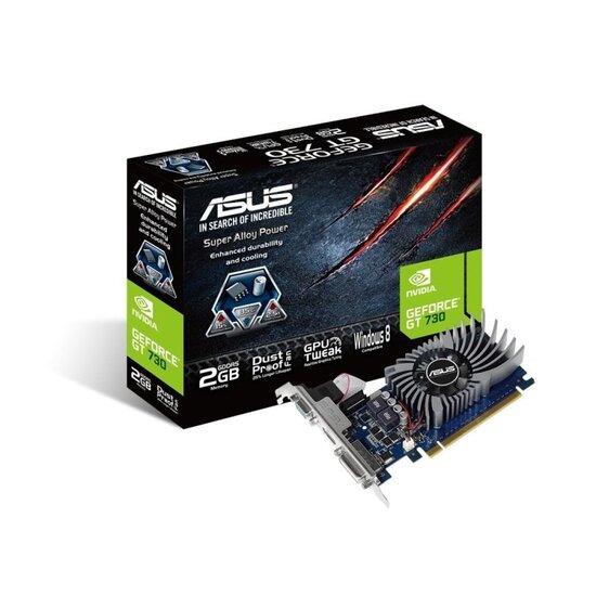 Asus GT730-2GD5-BRK 2GB GDDR5 VGA DVI HDMI PCI-E Graphics Card