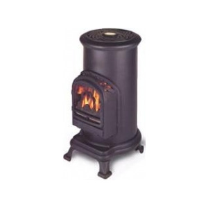 Photo of Broseley Fires Thurcroft 2.4KW Portable LPG Cylinder Stove In Cast Iron Garden Equipment