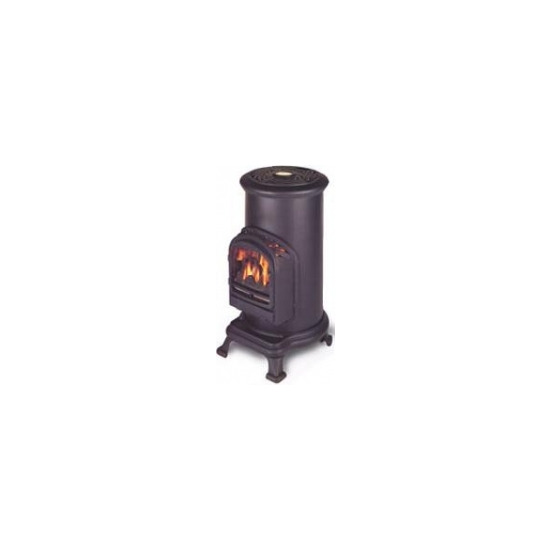Broseley Fires Thurcroft 2.4kW Portable LPG Cylinder Stove in Cast Iron