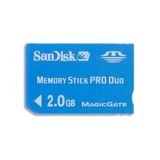 SANDISK 2GB MSPD CARD
