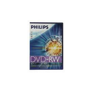 Photo of PHILIPS DVD-RW 10 PK SLIM DVD RW