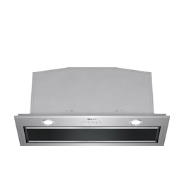 Neff D57ML67N0B Stainless steel and black glass canopy motor for 700mm housing Reviews