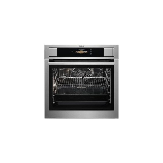 AEG BS836680KM COMPETENCE Electric Built-in  in Stainless Steel with antifingerprint coating