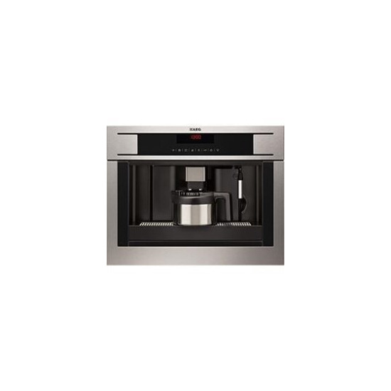 AEG PE4561-M Coffee Machine in Stainless Steel with antifingerprint coating
