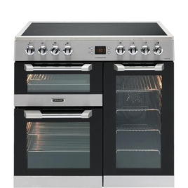 Cuisinemaster 90 Electric Ceramic Range Cooker Stainless Steel Reviews