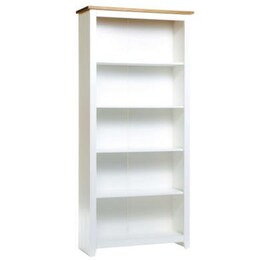 Buxton Tall Bookcase in White Reviews