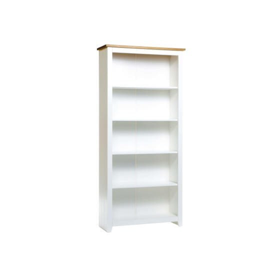 Buxton Tall Bookcase in White