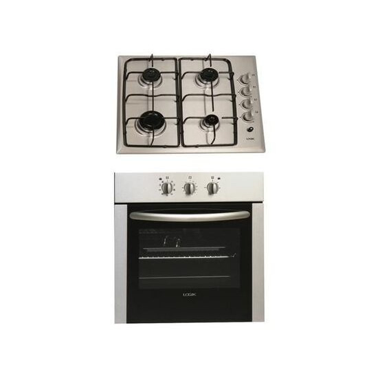 Logik LBPCKX10 Electric Oven and Gas Hob