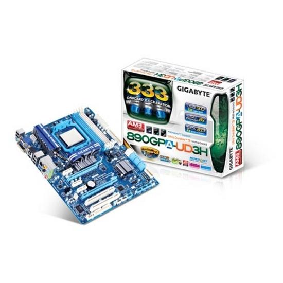 GIGABYTE GA-890GPA-UD3H AMD 890GX ATX Motherboard - AM3 Socket