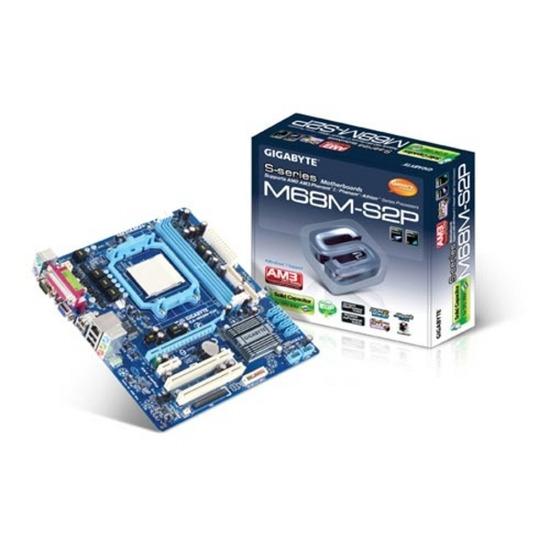 GIGABYTE GA-M68M-S2P GeForce 7025 microATX Motherboard - AM3/AM2ﰃ Sockets