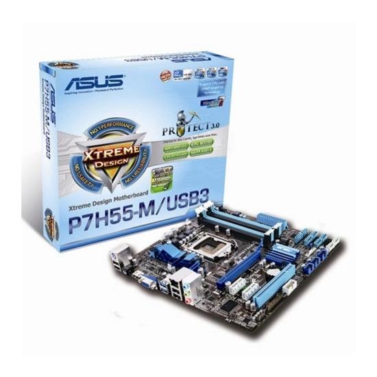 ASUS P7H55-M Intel H55 microATX Motherboard - 1156 Socket