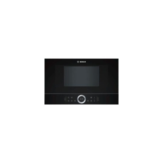 Bosch Bfl634gb1b Built In Microwave Oven Black