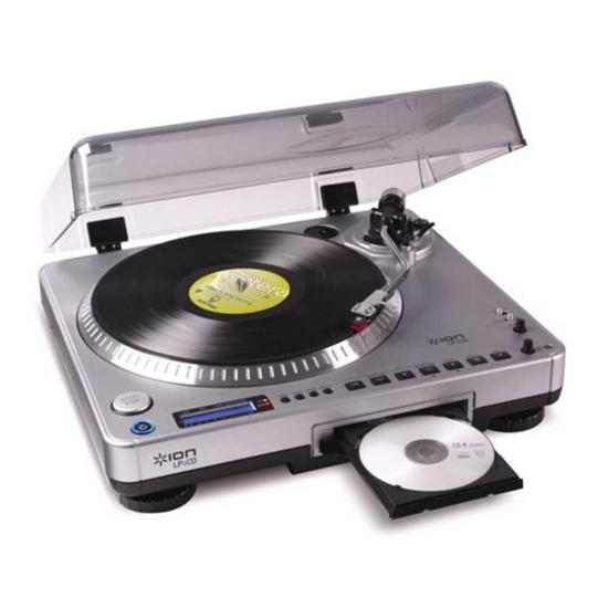ION LP 2 CD Vinyl-to-Digital